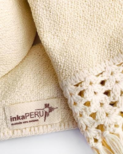 Bufanda 100% algodón natural